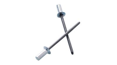 拉丝型抽芯铆钉铆接工艺过程