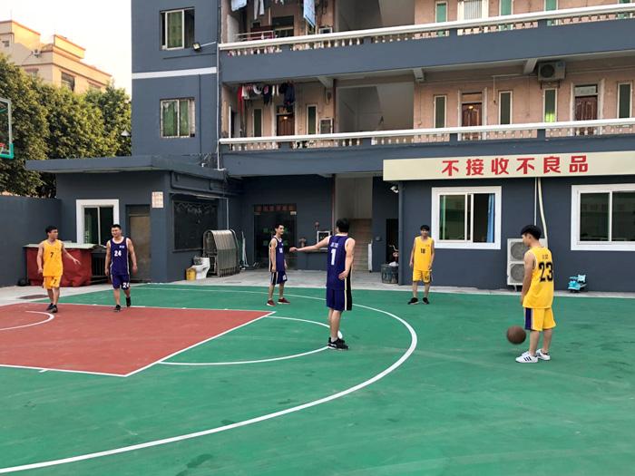 喆堃员工篮球比赛活动