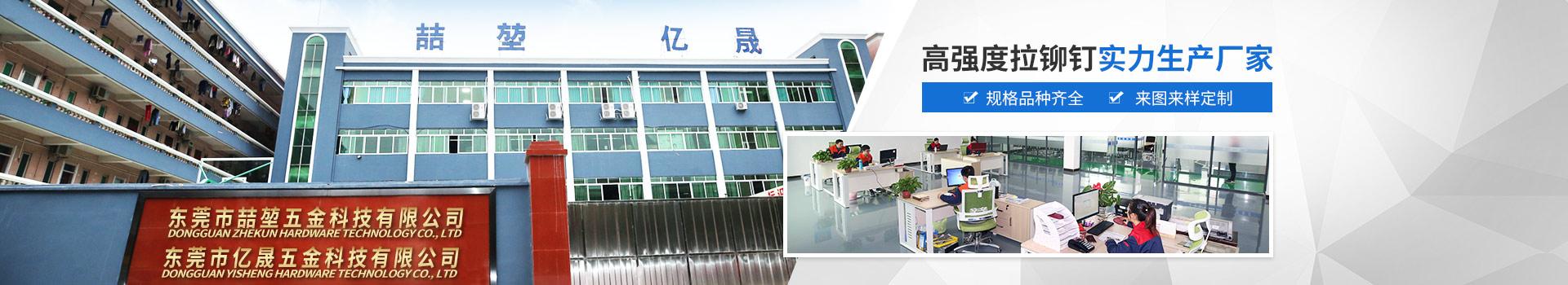 喆堃-高强度拉铆钉实力生产厂家