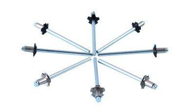 不锈钢半空心铆钉工具